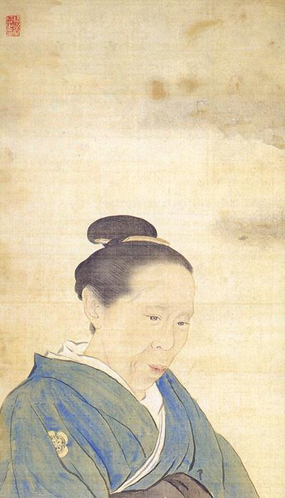 栃木県指定文化財 大橋民子像