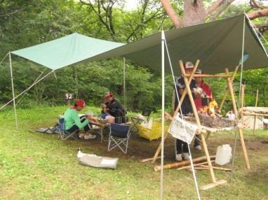 各隊・夏期キャンプ
