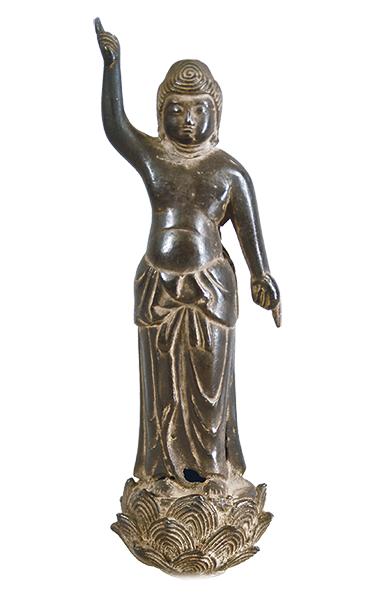 銅像誕生釈迦仏立像