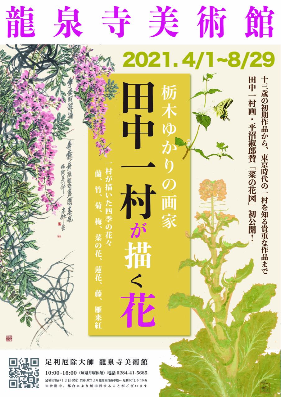 2021-4-8龍泉寺田中一村が描く花2